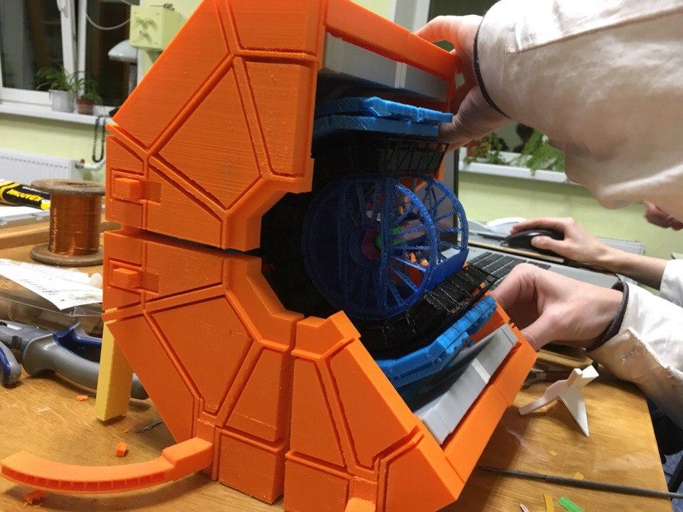 Собираем 3D модель детектора ALICE